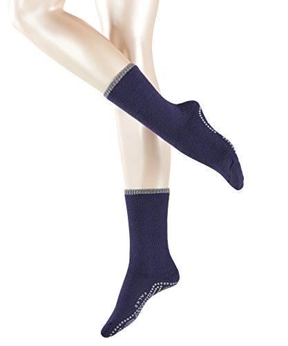 FALKE Damen Stoppersocken Cuddle Pads Violett (Bluecollar 6733), 39/42