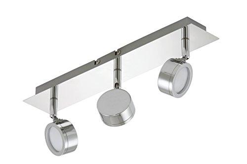 Trango LED Deckenstrahler, Deckenleuchte, Deckenlampe inkl. LED Leuchtmittel Strahler schwenk- und drehbar TG1007-38