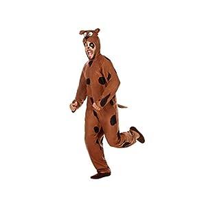 Atosa-54777 Disfraz Perro, Color marrón, M-L (54777