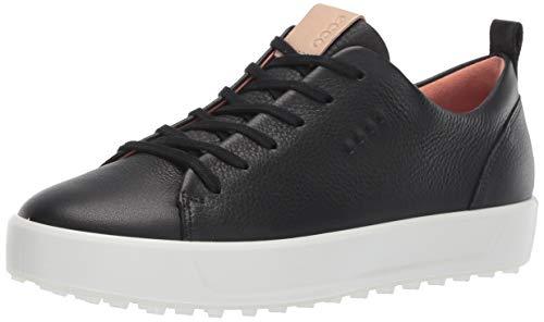 Hydromax Golfschuh (ECCO Damen Soft Golfschuhe Schwarz (Negro 10110301001) 40 EU)