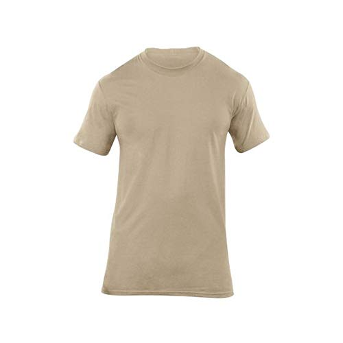 5.11Herren utili-t Crew Shirts 3Pack Medium ACU Tan