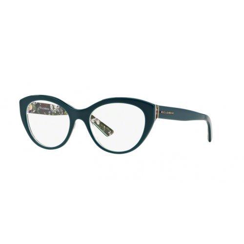 Dolce & Gabbana Gestell Mod. 3246 3022 53_3022 (53 mm) petrol