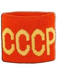 Digni® Poignet éponge avec drapeau URSS CCCP, pack de 2
