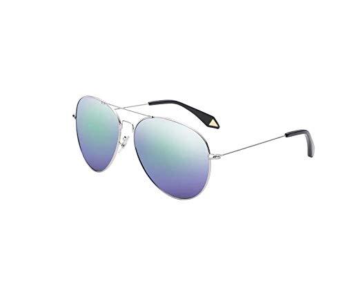 Nwn Sonnenbrille männlich polarisierten weiblichen Fahrer Fahrer nachtsicht Frosch Spiegel uv-Schutz Memory Frame (Color : Frame Green)