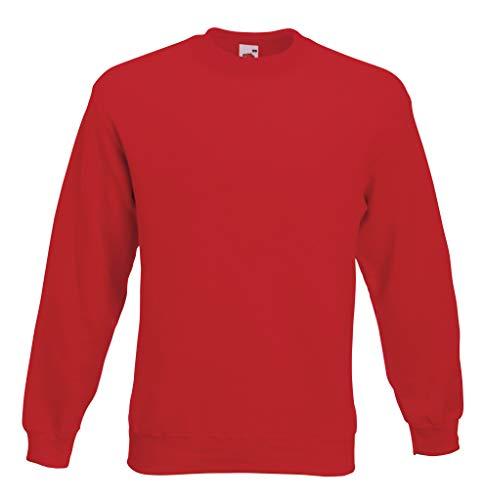 Set-In Sweatshirt XL,Red