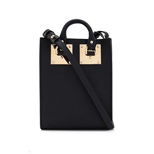 Pochette Da Donna Pelle Di Mucca Tote Bag Tote Bags Borse A Tracolla Borse A Tracolla Nere