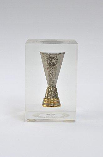 UEFA europe league 45 mm pokalreplika ourlet bloc en acrylique
