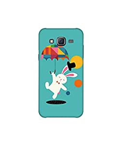 Kolor Edge Printed Back Cover For Samsung Galaxy On5 - Multicolor (8021-Ke10383SamOn5Sub)