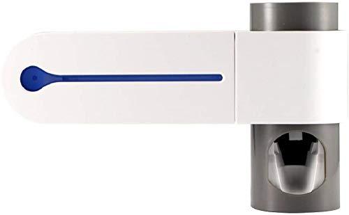 Dispensador automático de pasta de dientes antibacterias 2 en 1, dispensador...
