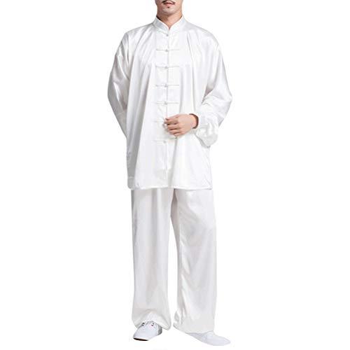 besbomig Klassische Unisex Tang Anzüge Kung Fu Martial Arts Uniformen Sets Klettern - Kampfkunst Taichi Praxis Kleidung für Männer Frauen - Kung Fu Uniform