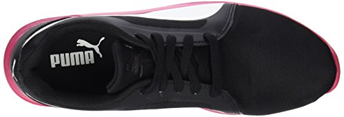 Puma St Evo, Chaussures de Running Entrainement Mixte Adulte Multicolore (Black/White/Rose Red)