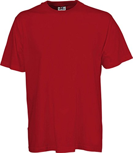 TJ1000 Basic Tee Red
