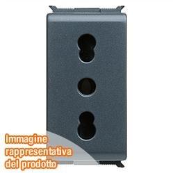 Gewiss GW30203 Tipo L (IT) Nero cassetta di scarico