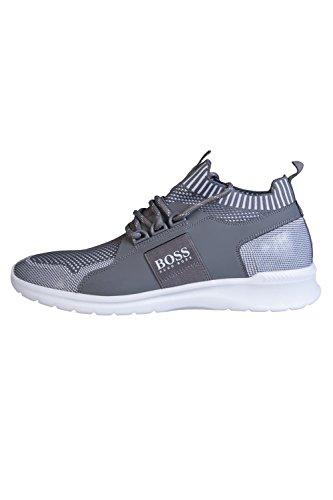 Hugo Boss Baskets Mode Pour Homme Gris Gris 44 Gris