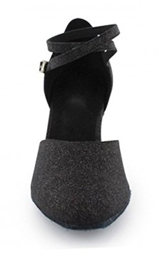 TDA , Salle de bal femme 6cm Glitter Black