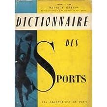 Dictionnaire des sports