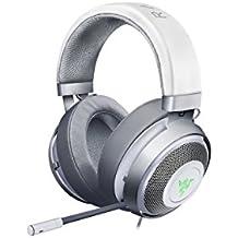Razer Kraken 7.1 Chroma V2 Gunmetal Edition USB Gaming Headset and 7.1 Surround Sound with 50 mm Drivers, Retractable Digital Microphone, Chroma RGB and Gunmetal Design, Beig