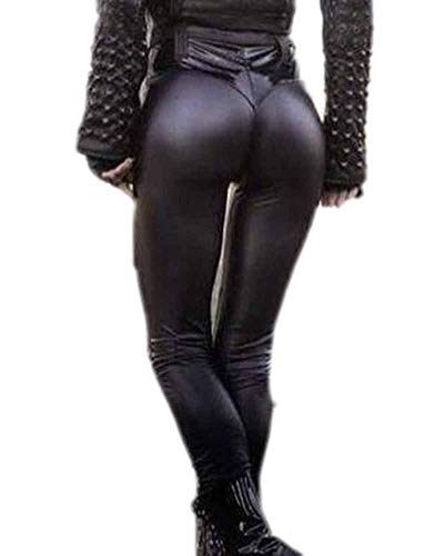 Leggings e tute da donna in pelle e latex