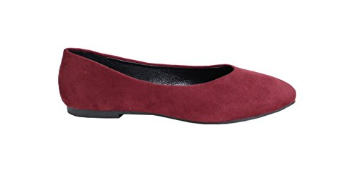 By Shoes Ballerine Donna Rosso