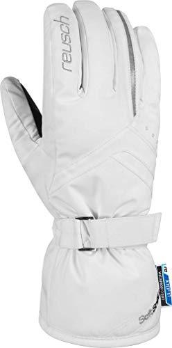 Reusch Damen Hannah R-TEX XT Handschuhe, White/Silver, 7