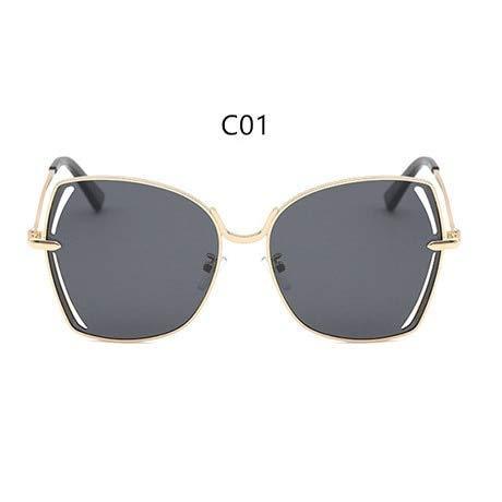 GFF Markendesign Polarisierte Sonnenbrille Frauen Damen Gradient Sonnenbrille Weibliche Vintage Oversized Eyewear