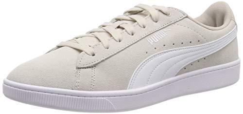 Puma Puma Vikky V2, Damen Sneakers, Grau (Silver Gray-White-Puma Silver), 41 EU (7.5 UK) Retro-sneaker