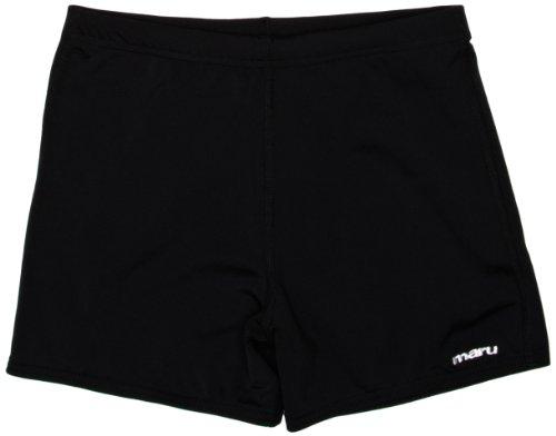 Maru Pacer Jungen Boardshort, Jungen, Noir - Noir (24 Zoll Swim Trunks)