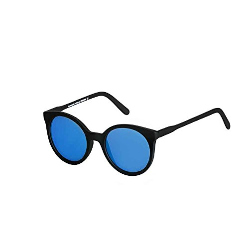 Spektre Stardust Sonnenbrille Männer Frauen hoher Schutz spiegel blau Made in Italy