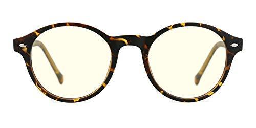 TIJN Retro Gafas protección contra luz azul antifatiga