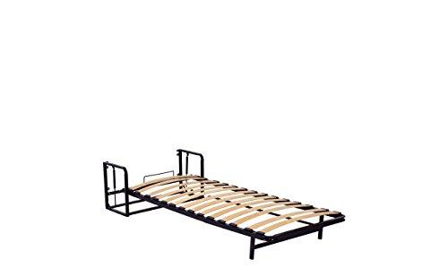 Einzel WANDBETT (Längs) 90cm x 200cm (Klappbett, Schrankbett, Gästebett, Funktionsbett) WALLBEDKING Classic - 8