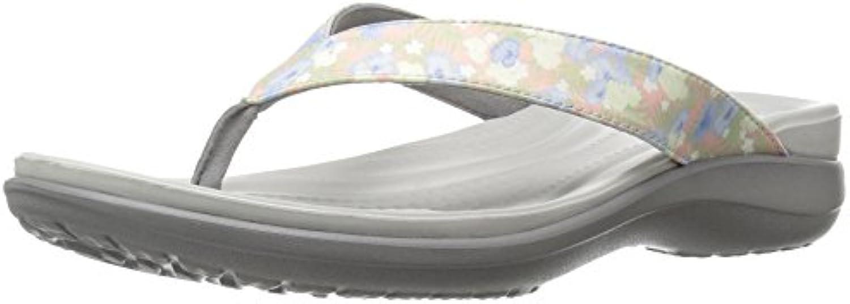 Crocs Capri V Graphic Flip W FLR LGR, Pantofole Pantofole Pantofole Donna | Acquista online  26fc49