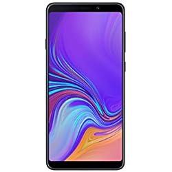 Samsung Galaxy A9 (2018) A920F Caviar Noir Android 8 Smartphone avec Quad-caméra