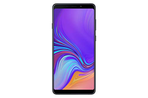 Samsung Galaxy A9 (2018) – 6,3 pollici, 128 GB, Android 8.0 – Caviar Black