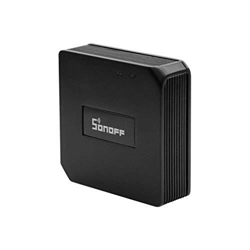 Sonoff RF Bridge WiFi 433 MHz Schalter Wireless Remote Controller 2.4G Automatisierungsmodul für Smart Home Kompatibel mit Alexa und Google Home