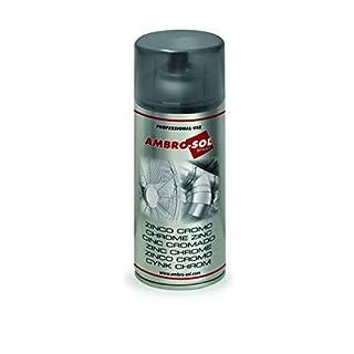 Ambro-Sol Z361 Chrome Zinc Spray, Silver