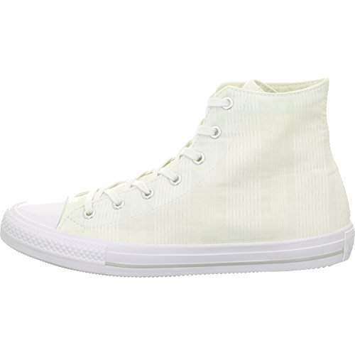 Converse 555842 Chuck All Star Damen Sneaker (White/Mouse/White) Weiß