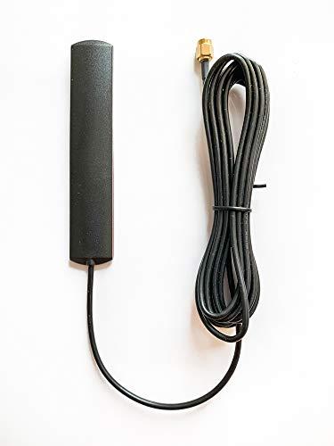 Technikkram 868 MHz Antenne SMA für CCU3 CCU2 Raspberry Pi CUL USB CC1101 GSM ELV Bausatz RaspberryMatic pivCCU Homematic Fibaro Pigtail Kabel (Klebeantenne 5dbi)