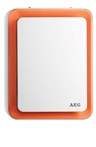AEG Heizlüfter HS 207 O, einzigartiges Design, Sweet-Air-Technologie, Silent-Air-Flow, Umkipp- und Frostschutz, orange, 1,8 kW, 234829