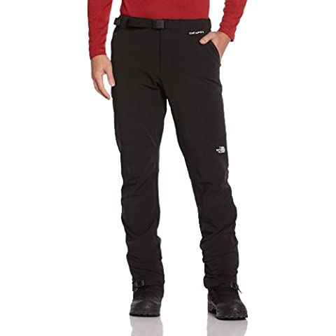 North Face M Diablo - Pantalón para hombre, color negro, talla L