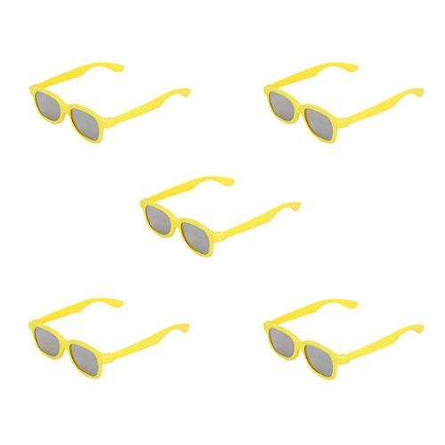 Preisvergleich Produktbild 5 Stueck Kinder 3D Brille Glasses fuer Panasonic TV Sony-Monitor 3D Filme