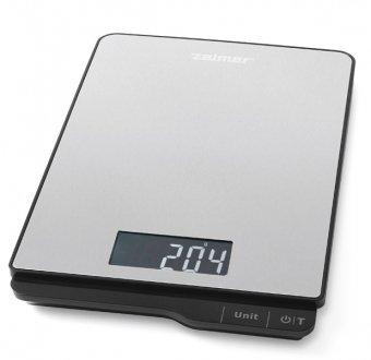 Zelmer KS1500 - kitchen scales (LCD, Black, Grey, CR2032, 150 x 220 x 18 mm)