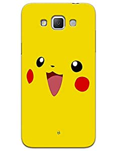 Samsung Galaxy Grand On G550 Cases & Covers - Pikachu Case by myPhoneMate - Designer Printed Hard Matte Case - Protects from Scratch and Bumps & Drops.