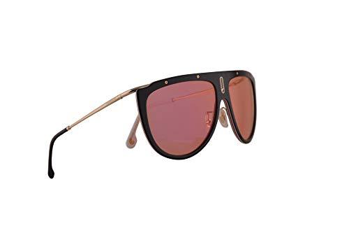 Carrera 1023/S Sonnenbrille Schwarz Havana Mit Rotten Verspiegelten Gläsern 60mm WR7UZ CA1023/S 1023S