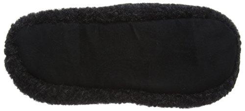 Woolsies Nanuq - 100% Natural Wool - Woolmark Certified Unisex-Erwachsene Hausschuhe Grey (Graphite Grey)