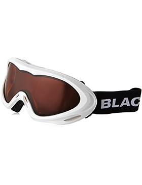Black Crevice Máscara de Esquí  Blanco