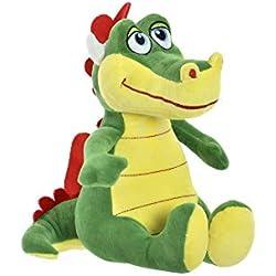 Item Peluche Dragon Verde Poliester 23x26 CM