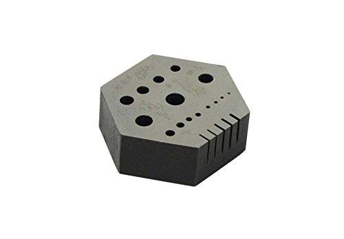 SE jt-hr15b Sechskant Mini Stahl Amboss