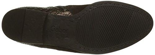 Gabor Shoes Fashion, Stivali Chelsea Donna Multicolore (mocca/broncMicro)