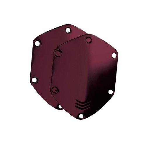 V-MODA Metall-Abdeckungen für Crossfade On-Ear-Kopfhörer - Crimson Red (Vmoda Custom)