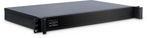 Galleria fotografica Inter-Tech IPC-K-126L Rack Black computer case - computer cases (Rack, Server, Steel, Mini-ITX, Black, 1U)